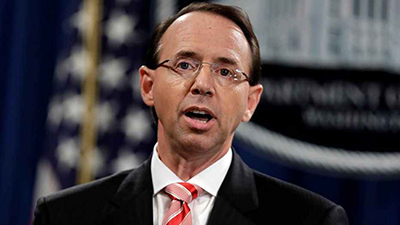 Lindsey Graham to Hold Senate Hearings in Rosenstein's Alleged Administrative 'Coup'