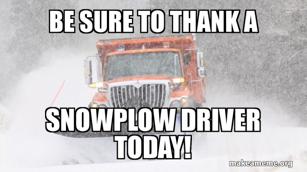 These Are the Best Snow Plow Memes