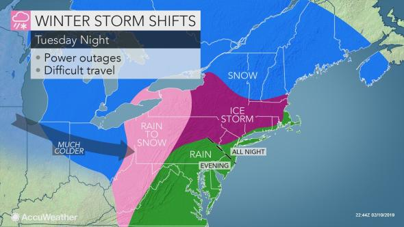 WINTER STORM MAYA: Schuylkill County 4-8″ Snow and Ice