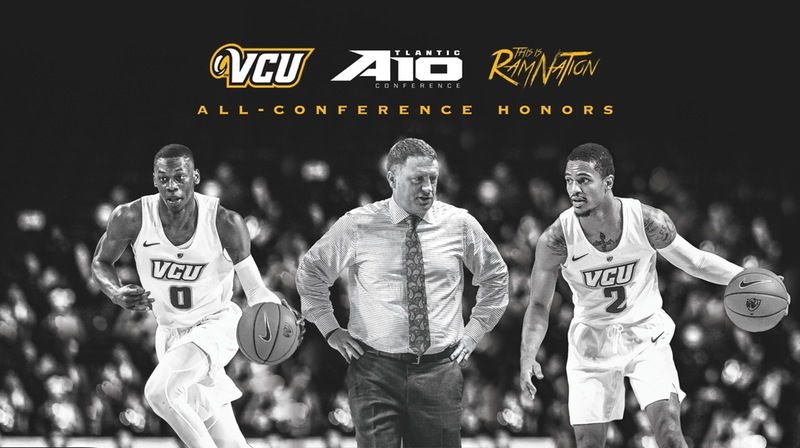 Mike Rhoades Named 2019 A10 Coach of the Year