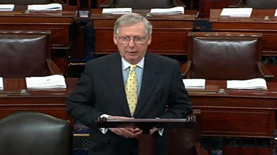 Majority Leader McConnell says he won't Bring H.R.1 up for a Vote