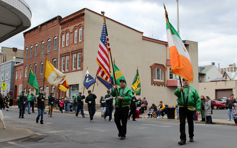 pottsville st patricks day parade 2019