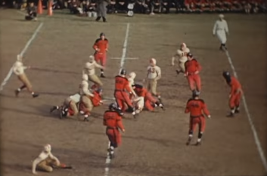 Check Out This Video of the 1940 Pottsville-Reading Thanksgiving Day Football Game