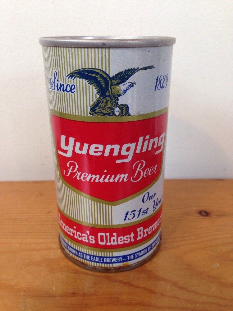 yuengling retro cans