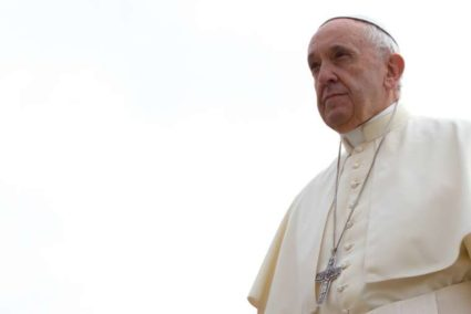 America's Wall Won't Work, Says Pope Behind a Wall
