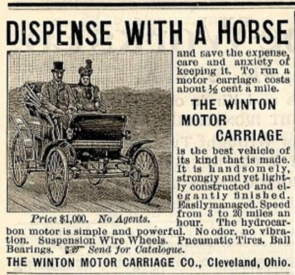 On April 1, 1898, a Port Carbon Man Bought the First Car in America