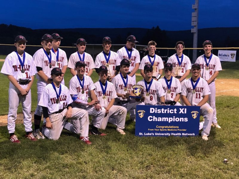 tri valley district 11 baseball champions 2019
