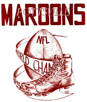 NFL 100 Stirs Echoes of the Pottsville Maroons Stolen Championship