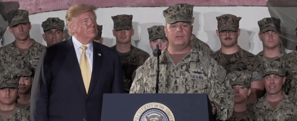 President Trump Honors Fallen Tower City Soldier, Nativity Grad Speaks During Memorial Day Speech in Japan