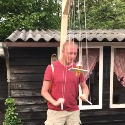 Ditch Cornhole – You Need This Dutch Beer Puppet Drinking Game