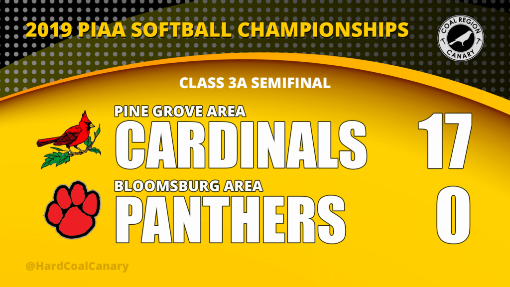 Pine Grove Makes Short Work of Bloomsburg, Reaches State Softball Finals