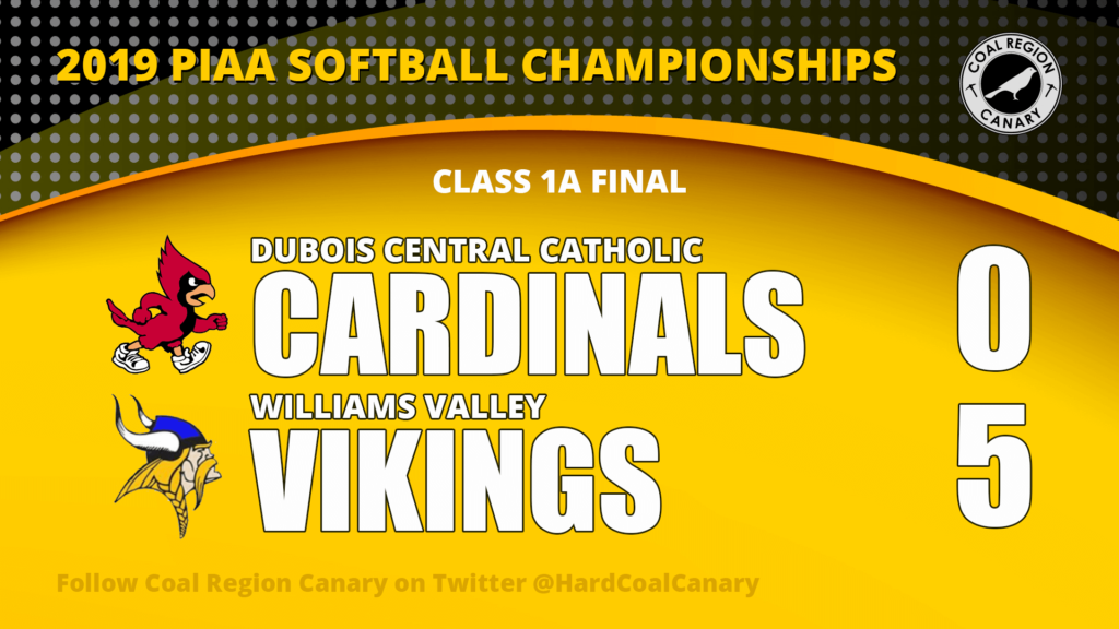 Williams Valley Captures State Softball Title
