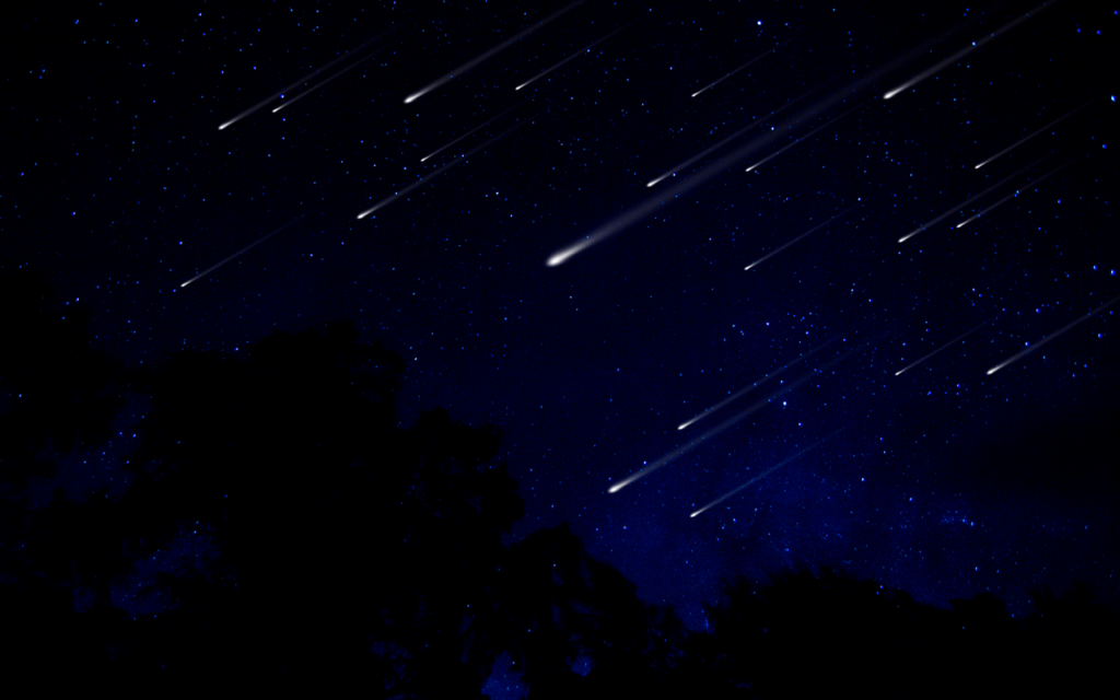 🌠🌠 Fireballs in the Sky Over Schuylkill County? Double Meteor Shower at Peak Tonight