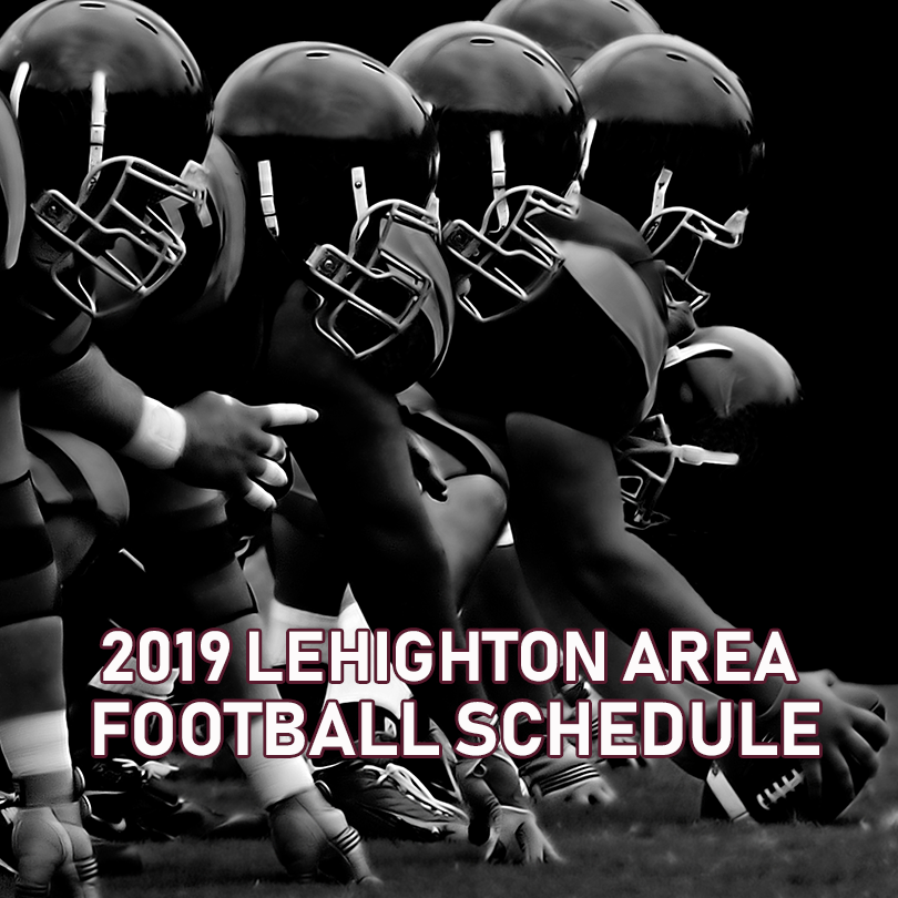 2019 Lehighton Football Schedule