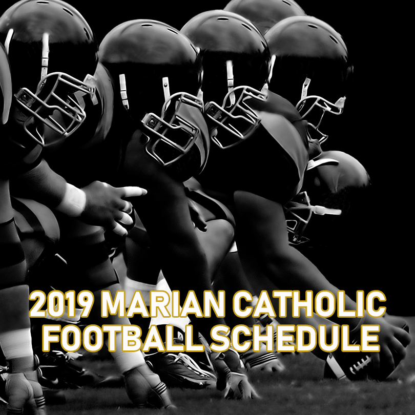 2019 Marian Catholic Colts Football Schedule