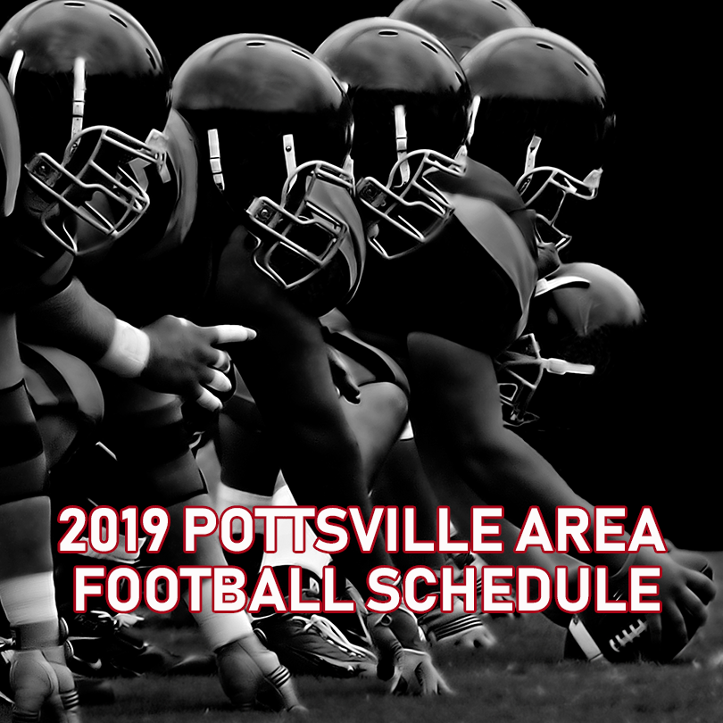 2019 Pottsville Football Schedule