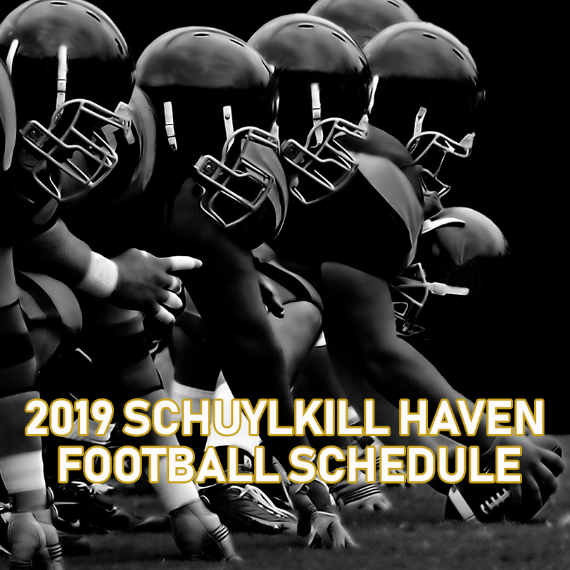 2019 Schuylkill Haven Hurricanes Football Schedule