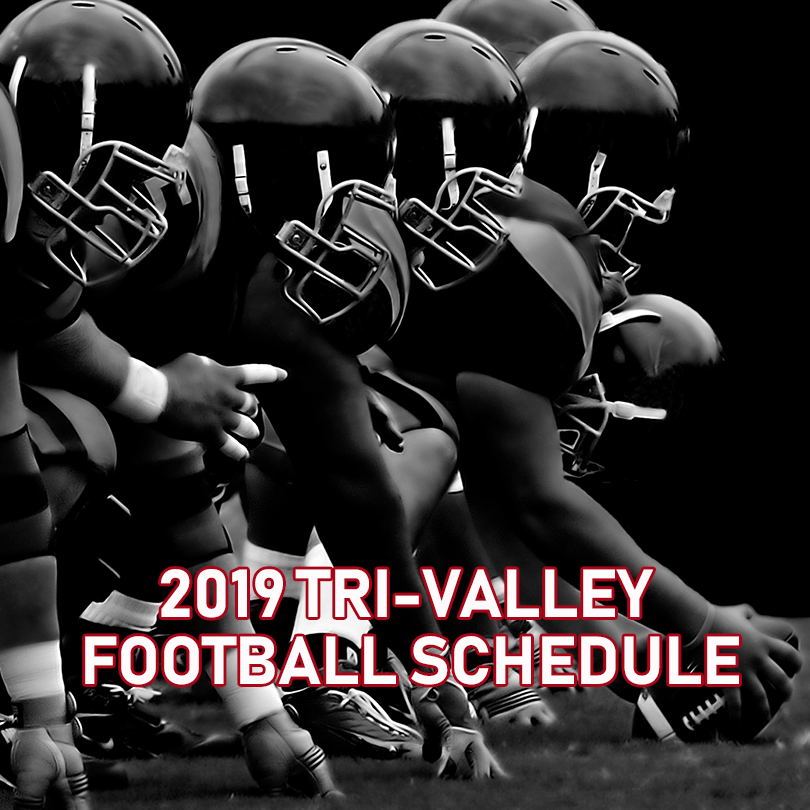 2019 Tri Valley Bulldogs Football Schedule