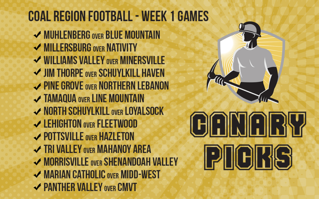 Our Week 1 Picks Are In