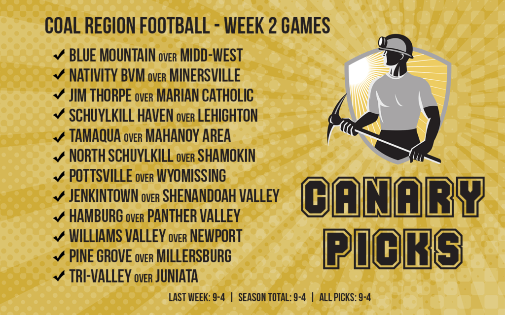 HS Football Picks Week 2 – Grading With the Curve