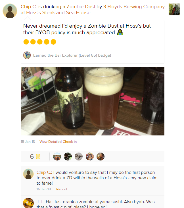 beer review hoss byob