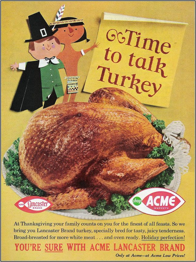 vintage thanksgiving acme