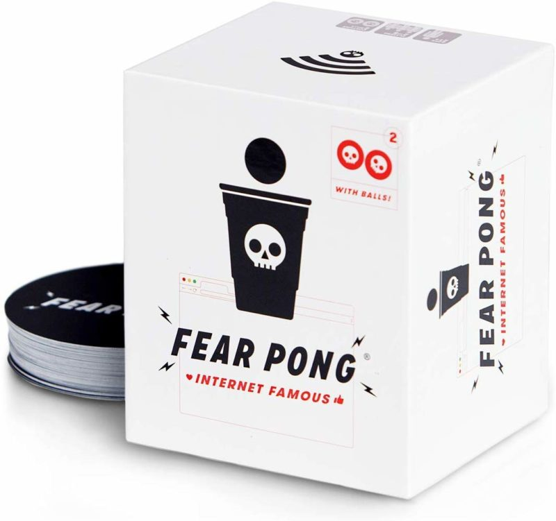 fear pong card game