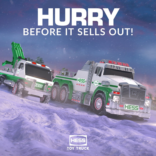 hess toy truck 2019