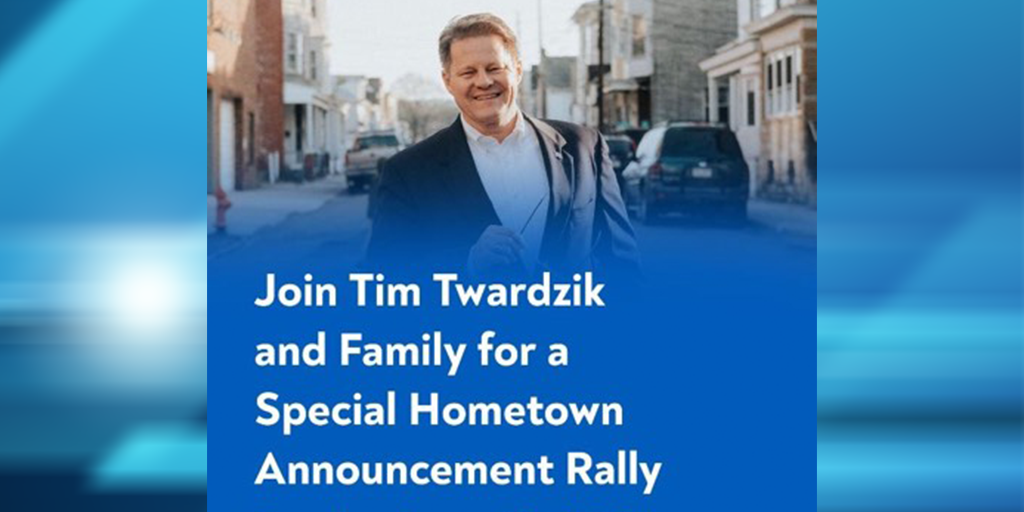 Former Mrs. T's Boss Tim Twardzik Running for PA-123