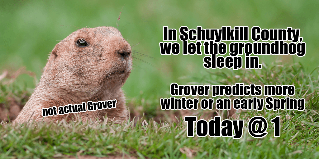 Grover the Groundhog Guesses at 1