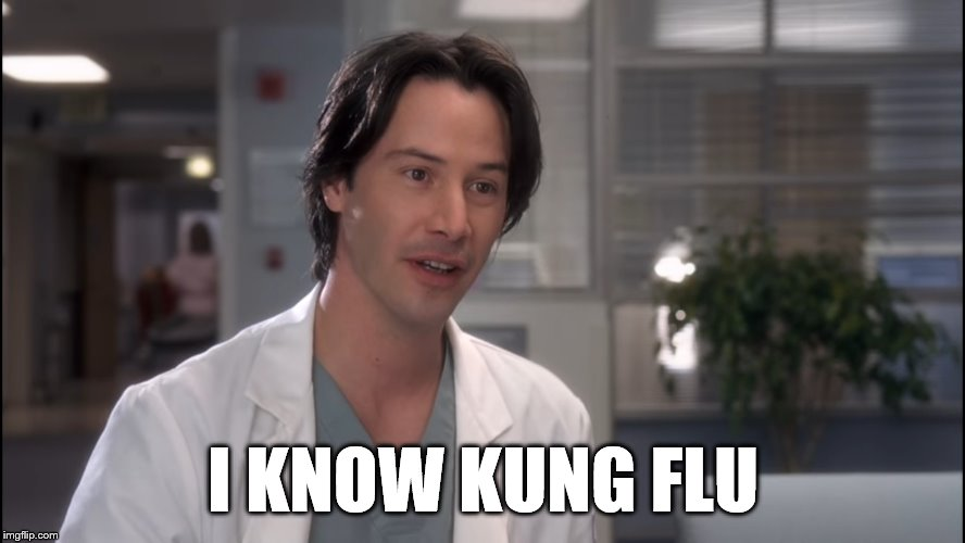 i know kung flu meme
