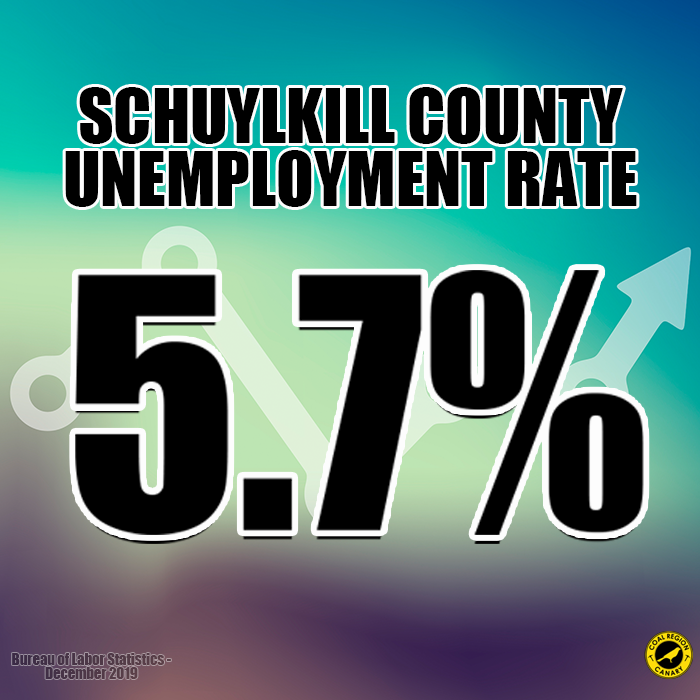 Schuylkill County Unemployment Rises to 5.7%