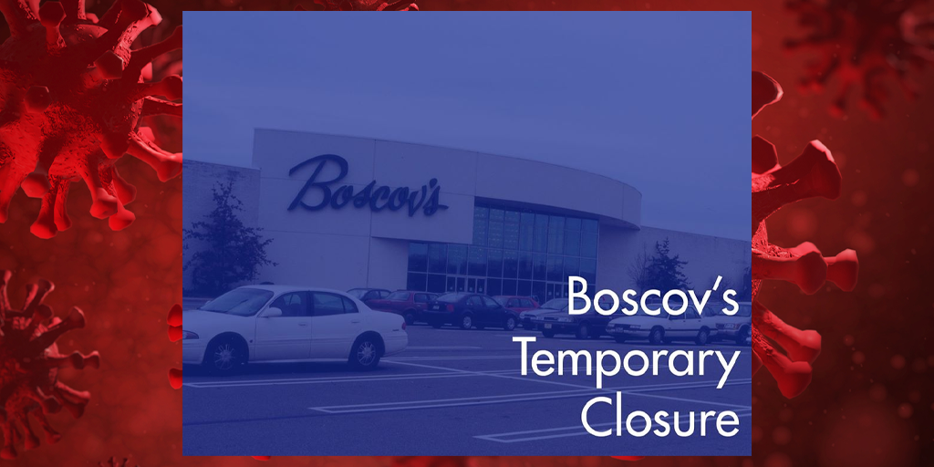 Pottsville Boscov's Store Closes, Fairlane Village Mall Open with Limited Schedule