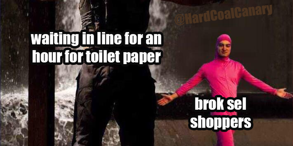 Small Local Stores Offer Relief from Toilet Paper Panic Buyers