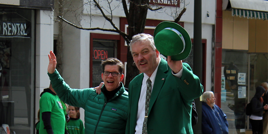 muldowney state of the city st paddys day parade
