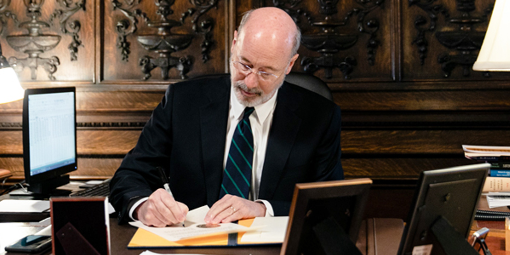 Wolf Signs Bill Moving Pennsylvania Primary Election to June 2