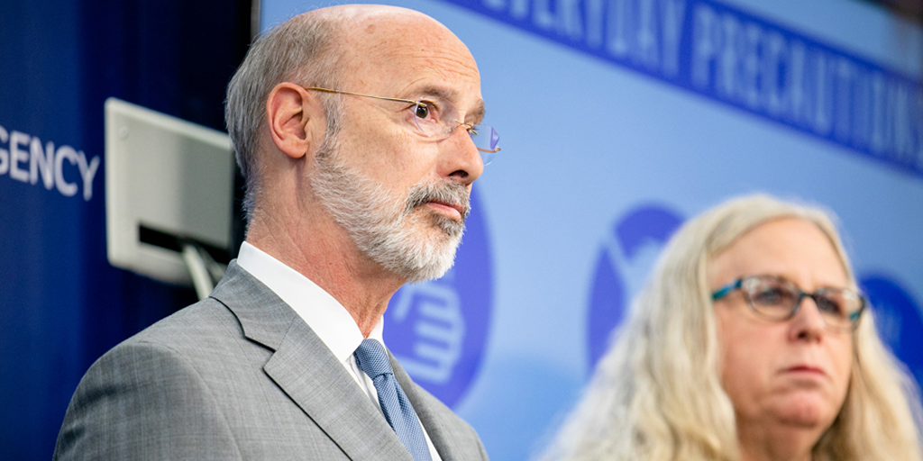wolf extends coronavirus stay at home order schuylkill county