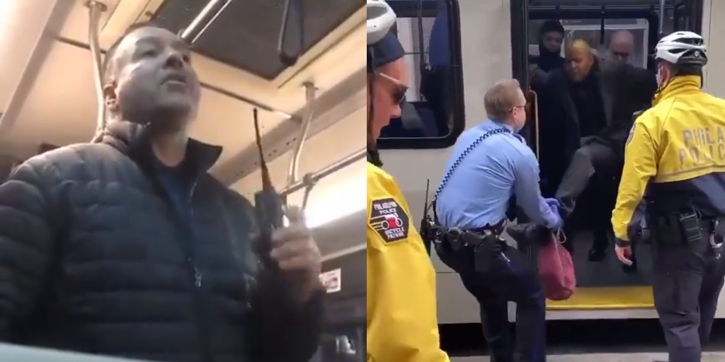 SHOCKING VIDEO: Philly Cops Yank Man Off SEPTA Bus for Not Wearing a Face Mask