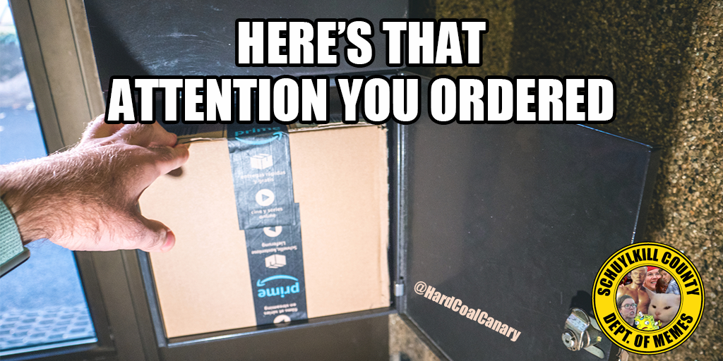 attention you ordered