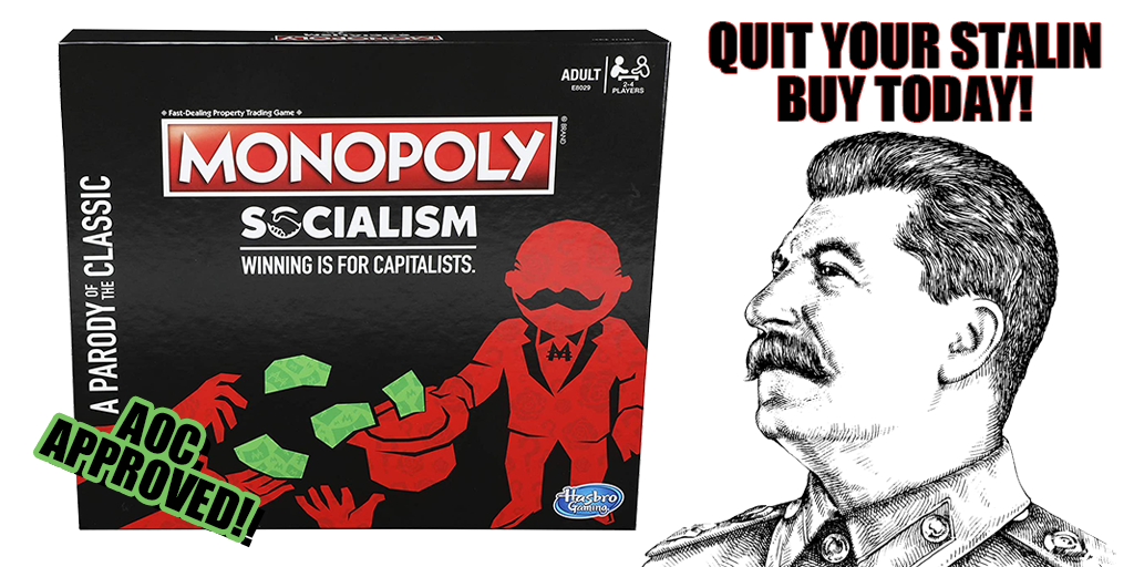Craving Communism? Try the Home Game – Monopoly Socialism Now Available