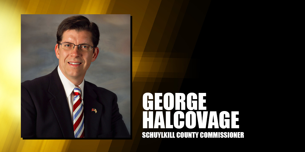 george halcovage schuylkill county commissioner