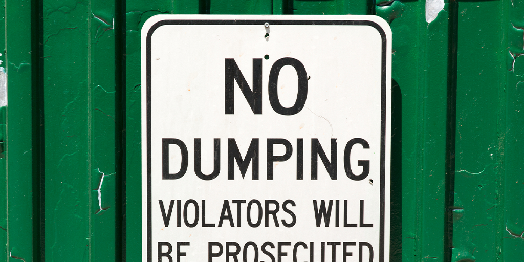 Schuylkill County Man Caught Dumping All Over the Place