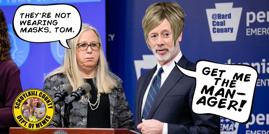 Tom Wolf Goes Full Karen on Mask Policy