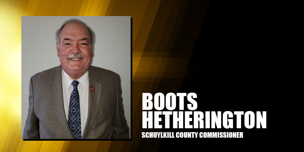 Boots hetherington schuylkill county commissioner