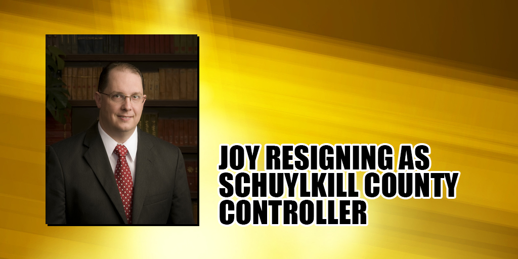 Christy Joy Quitting as Schuylkill County Controller