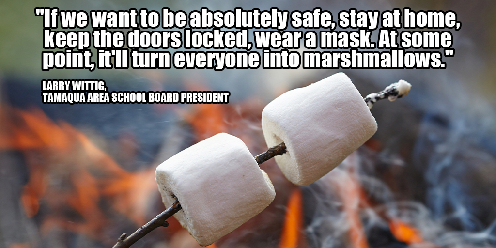 larry wittig marshmallows back to school