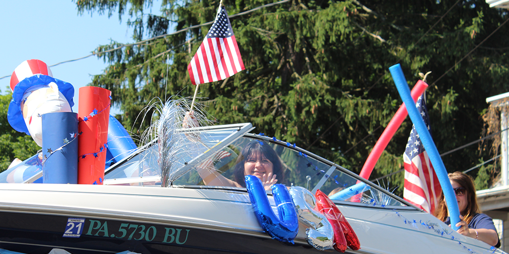 port carbon fourth of july 2020 america boat