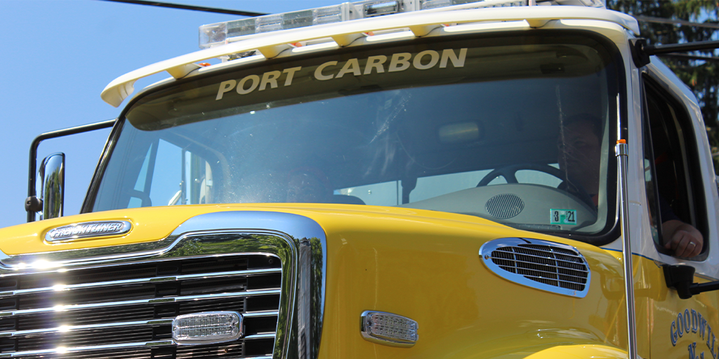 port carbon fourth of july 2020 goodwill truck