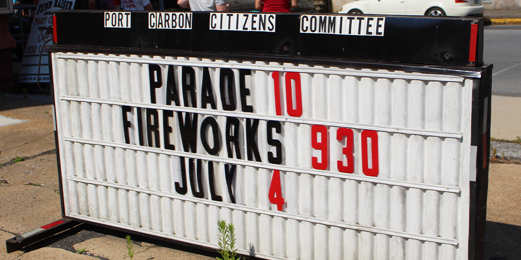 port carbon fourth of july 2020