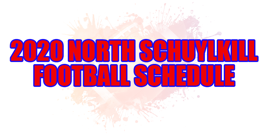 🏈 2020 North Schuylkill Football Schedule